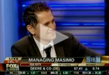 video of Masimo CEO Joe Kiani's interview on Fox Business News